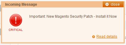 Seguridad Magento